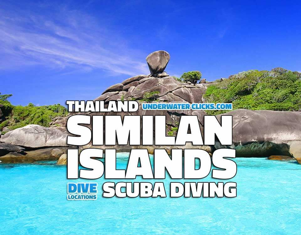 Scuba Diving Location - Similan Islands Thailand