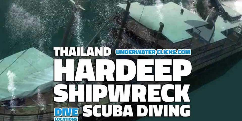 scuba diving locations - hardeep Wreck Diving Thailand
