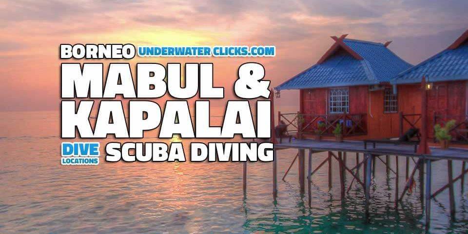 scuba diving locations - Mabul & Kapalai - Malaysia