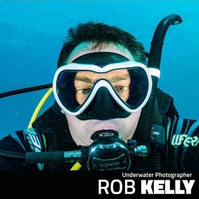 Rob Kelly Underwater Photographer Profile