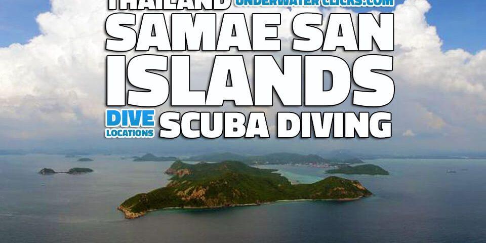 Scuba Diving Locations Samae San Thailand