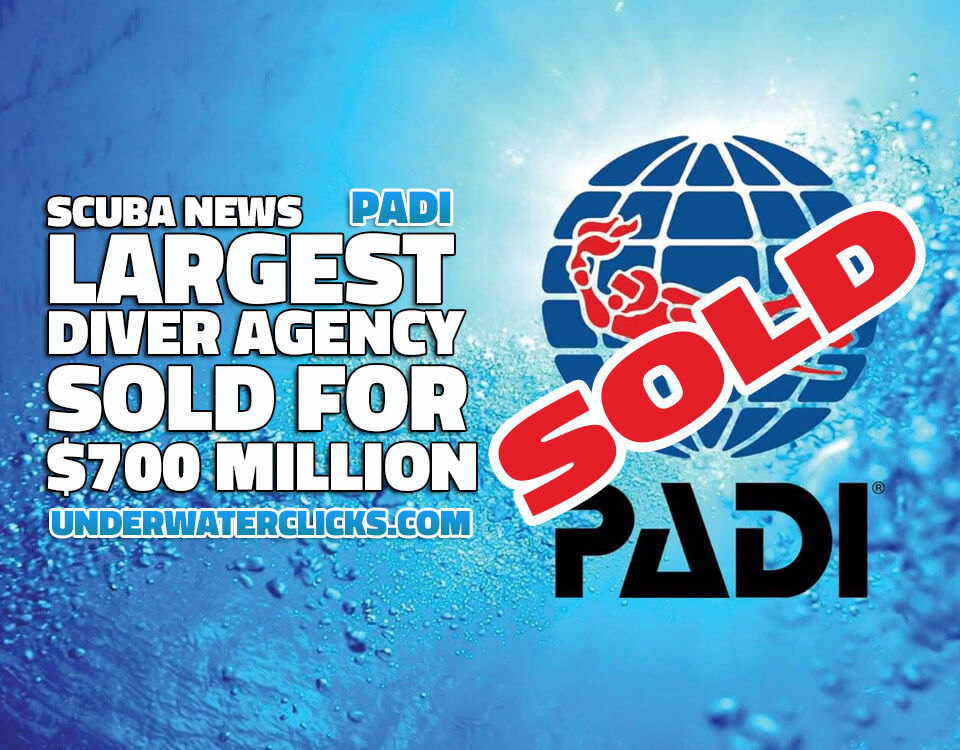 PADI Diver Agency Sold for 700-million 2017