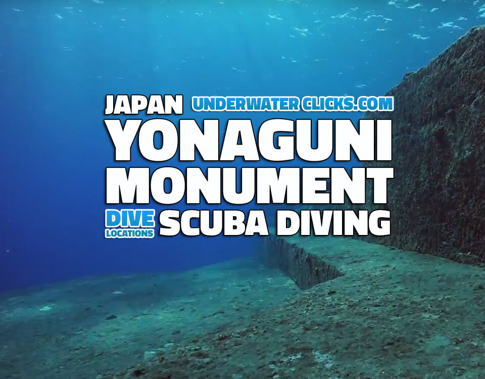 Scuba Diving Yonaguni underwater monument japan